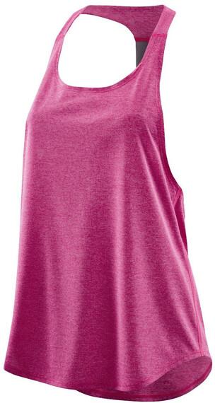 Skins Plus Remote T-Bar - Camiseta sin mangas running Mujer - rosa